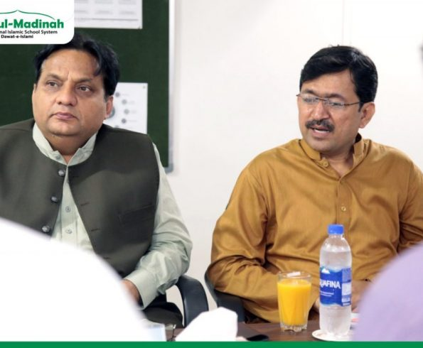 Journalists, media directors and other personalities visited Head Office of Dar-ul-Madinah.