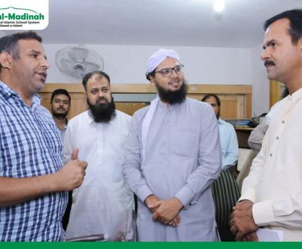 Associate Professor & Member of Curriculum Division Dr. Muhammad Idrees visited Head Office of Dar-ul-Madinah International Islamic School System!